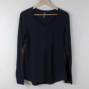 Lucy Black Longsleeve Tee Black Medium